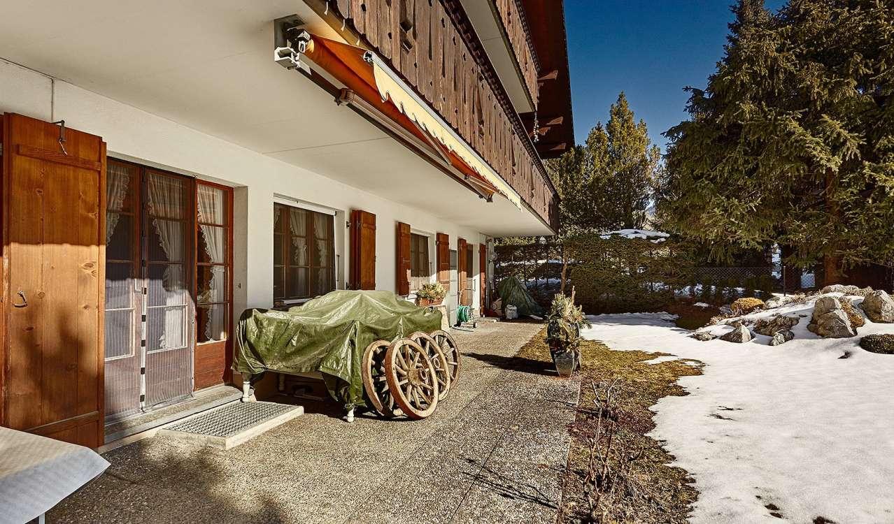 Сезонная аренда Апартаменты Gstaad