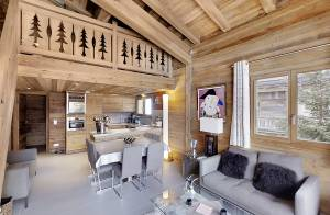 Сезонная аренда Апартаменты Megève