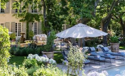 Сезонная аренда Бастид, типичный южный дом Aix-en-Provence