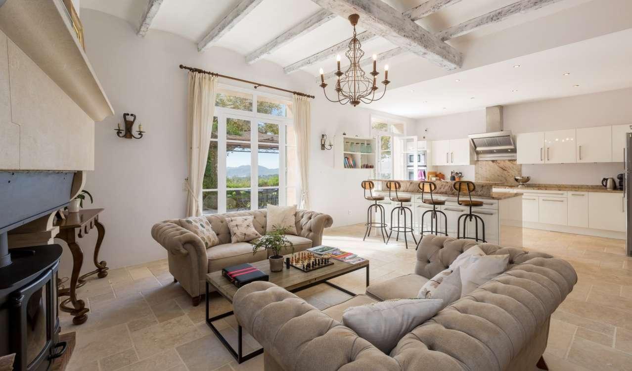 Сезонная аренда Бастид, типичный южный дом Mougins
